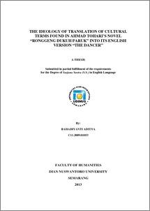 PDF RONGGENG DUKUH PARUK