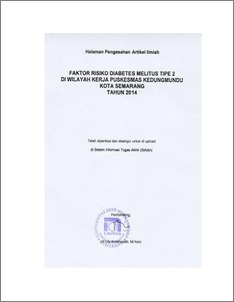 Jurnal Muara Sains, Teknologi, Kedokteran dan Ilmu Kesehatan