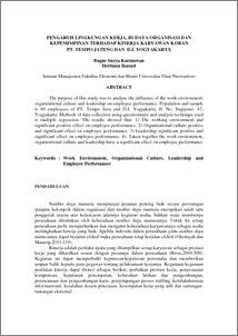 Jurnal kepemimpinan kewirausahaan pdf